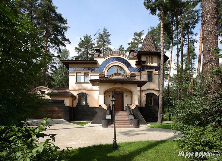 стиль модерн дома: 16 тыс изображений найдено в Яндекс.Картинках