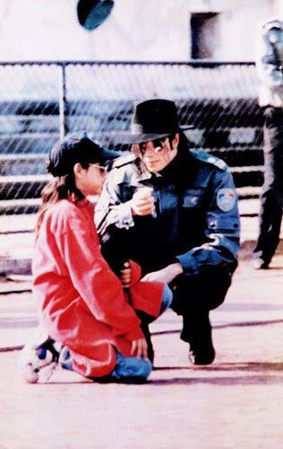 Michael Jackson: I want you to show him WHO'S BAD. Now go over there and punch that kid out!