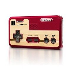 This old-school iPhone 5 Game Controller in Red is designed to not only protect your phone but also mimic the old school Nintendo game controller.  Instead of the typical white though, this game controller is in sleek and sexy red.  Who says you can't go retro and sexy at the same time?