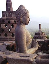 Borobudur, a biggest temple of the world. Great architecture and great art!