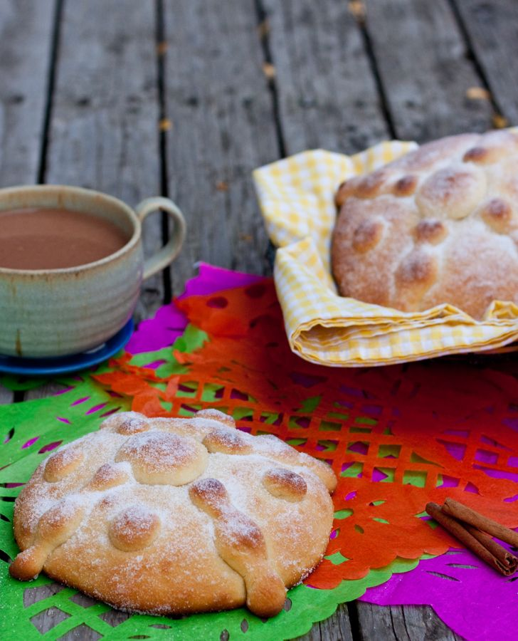 Pan de Muerto recipe Latina Bloggers