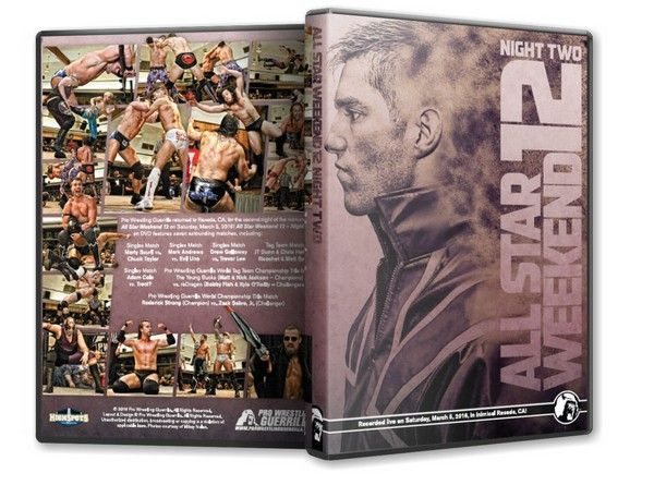 HighSpots.com: Pro Wrestling Guerrilla - All Star Weekend 12 - Night 2 DVD or BluRay