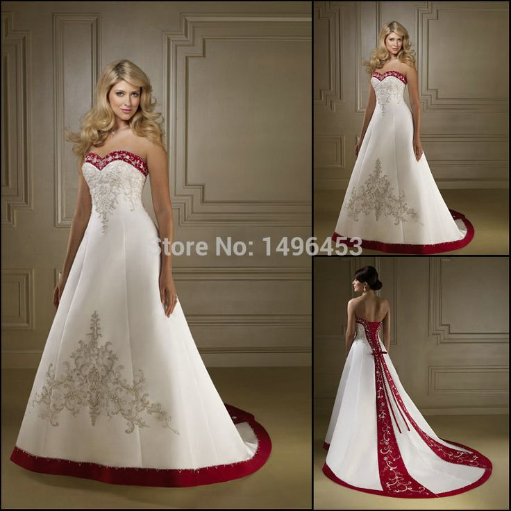 New Custom Make A line Sweetheart Satin Plus Size Wedding Dress Bridal Gown