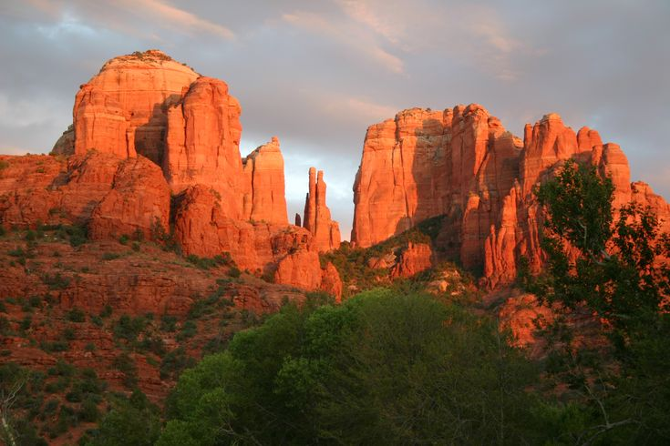 sedona pictures red rocks | copy-of-nh013-cathedral-rock-sunset1