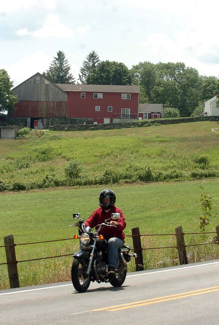 Style home westport ct cardello architects serving westport - A Motorcyclist Rides By A Farm On The Canterbury Brooklyn Town Line On Route 169