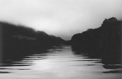 """""""I luxuriate more in a whole day alone; a day of easy natural poses; slipping tranquilly off into the deep water of my own thoughts, navigating the underworld."""" - Virginia Woolf, Diary entry, 18 June 1926 Anne Noble"""