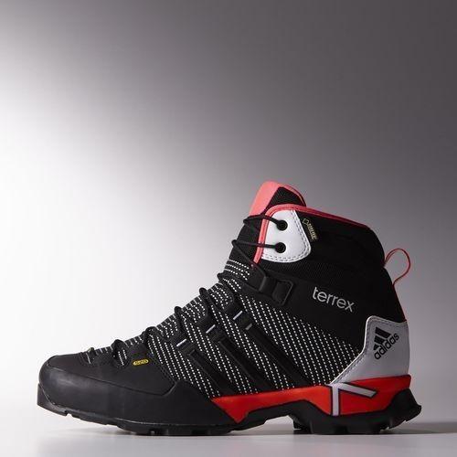 exclusif Adidas Chaussure montante Terrex Scope GTX Noyau Noir / Rouge  solaire / FTWR Blanc (
