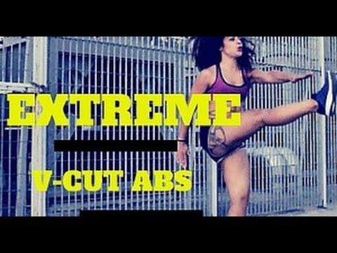 SUPER EXTREME V- Cut Abs Workout