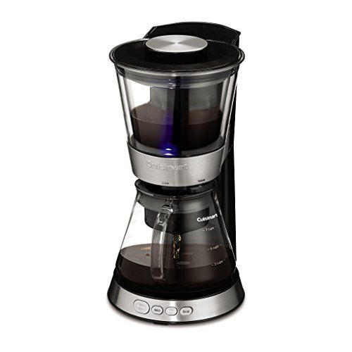 Cuisinart DCB-10 Automatic Cold Brew Coffeemaker, Silver Best Price.  Cuisinart DCB-10 Automatic Cold Brew Coffeemaker, Silver Feature: 7-container glass carafe with removable stainless steel channel top makes prepared to-dr