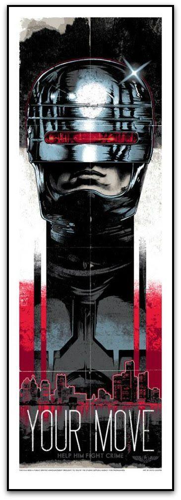 Rhys Cooper Movie Posters On Sale RoboCop Terminator & More