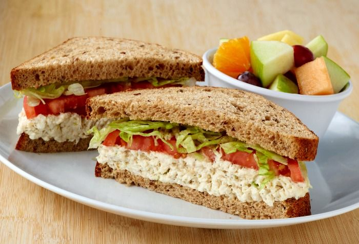 Zoes Kitchen Chicken Salad Sandwich