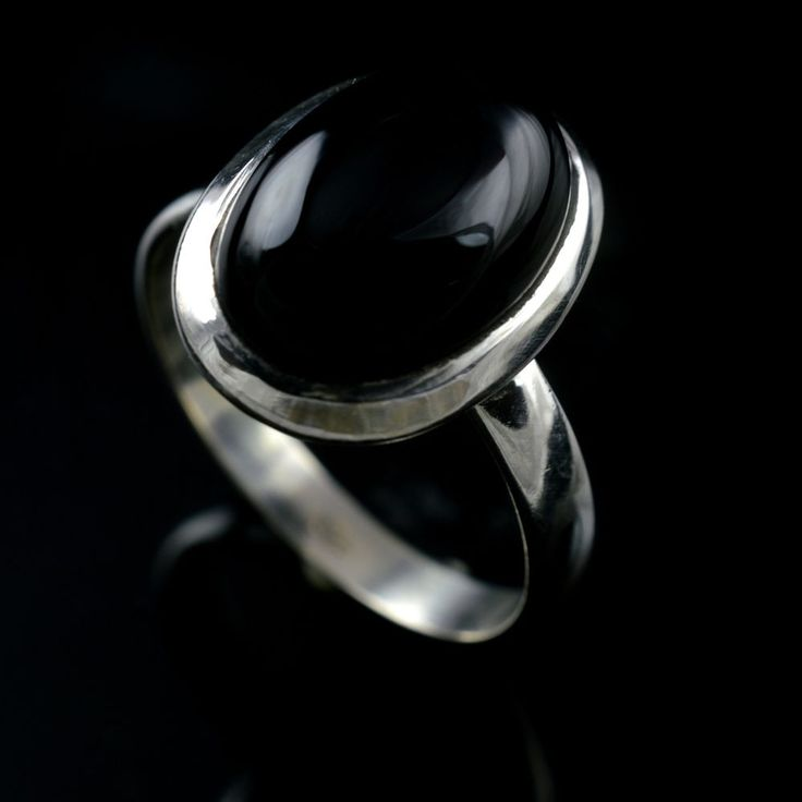 925 Sterling Silver Natural Black Onyx Gemstone Handmade Mens Ring Size 9 US #Handmade #Cluster #Party