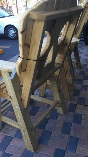 Adirondack Chair Plans skull chair plans - by Brent Golden @ LumberJocks.com ~ woodworking community
