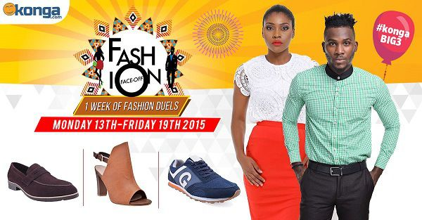 Nigeria News which to inform you that the konga Fashion Faceoff is finally here!