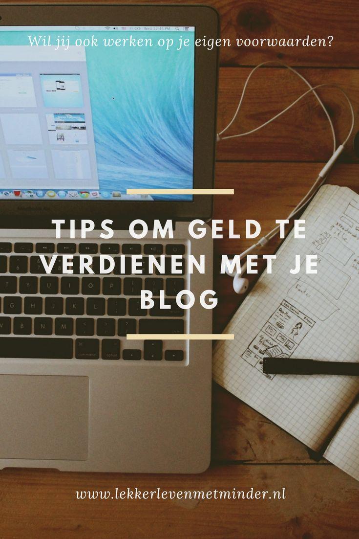 Geld verdienen met je blog? Bloggen biedt je veel kansen om geld te verdienen. Hier lees je een aantal praktische tips/opties!