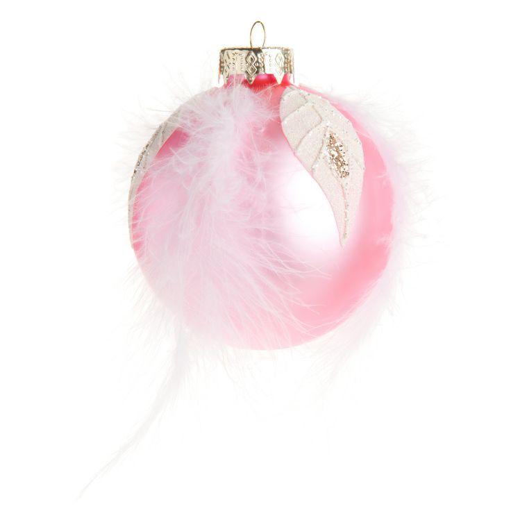 Pallina piumino rosa