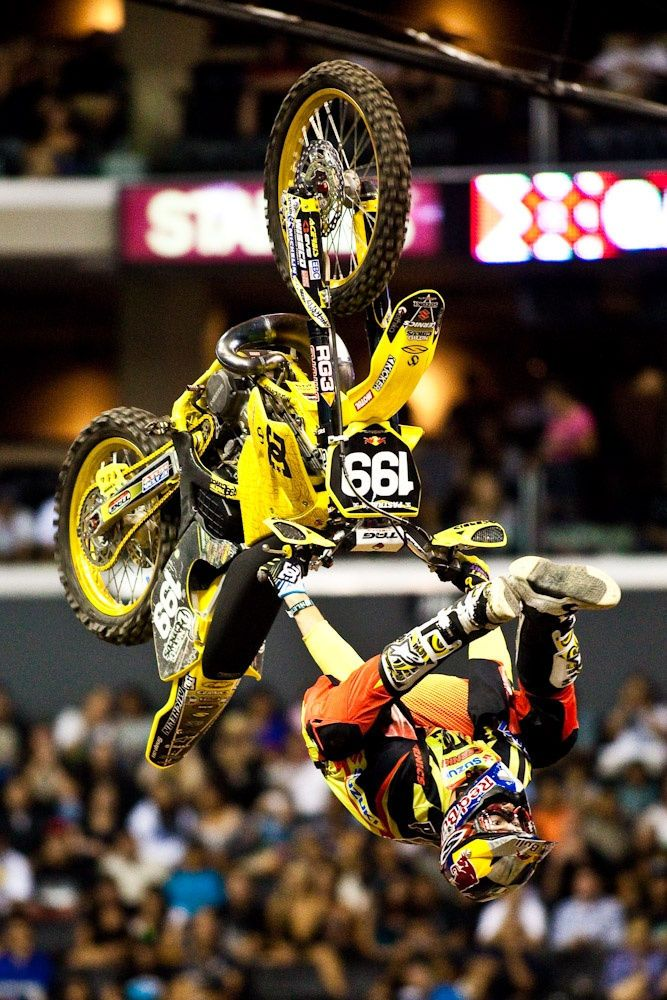 Legent of motocross, Travis Pastrana, backflip hellcliker by Kirill Umrikhin on 500px