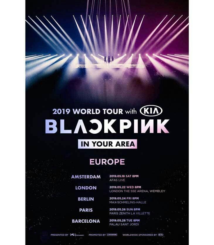 BLACKPINK europe concert | Blackpink in 2019 | Blackpink
