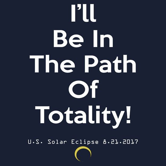 2017 US Solar Eclipse Path of Totality