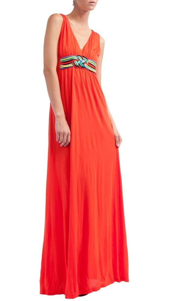 V Neck Jersey Maxi Dress by Manoush :): Long Dresses, Coral Eith, Color, Clothing, Jersey Maxi Dresses, Shorts Jackets, Dresses Sho, Good, Coral Maxi