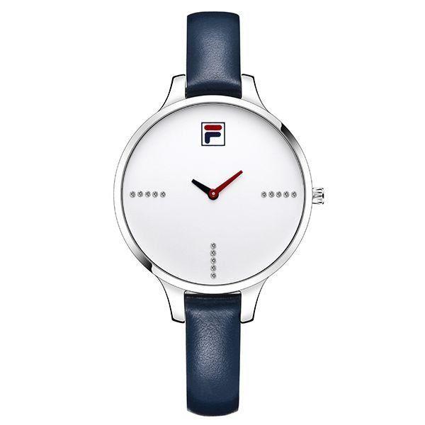 Fila 2017 Top Marca de Luxo Moda Casual Mulheres Relógios de Quartzo com Pulseira de Couro relógio de Pulso Relógio de Alta Qualidade À Prova D' Água 38-780 - A sua loja com itens nacionais e importados