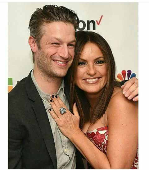 Mariska Hargitay And Peter Scanavino