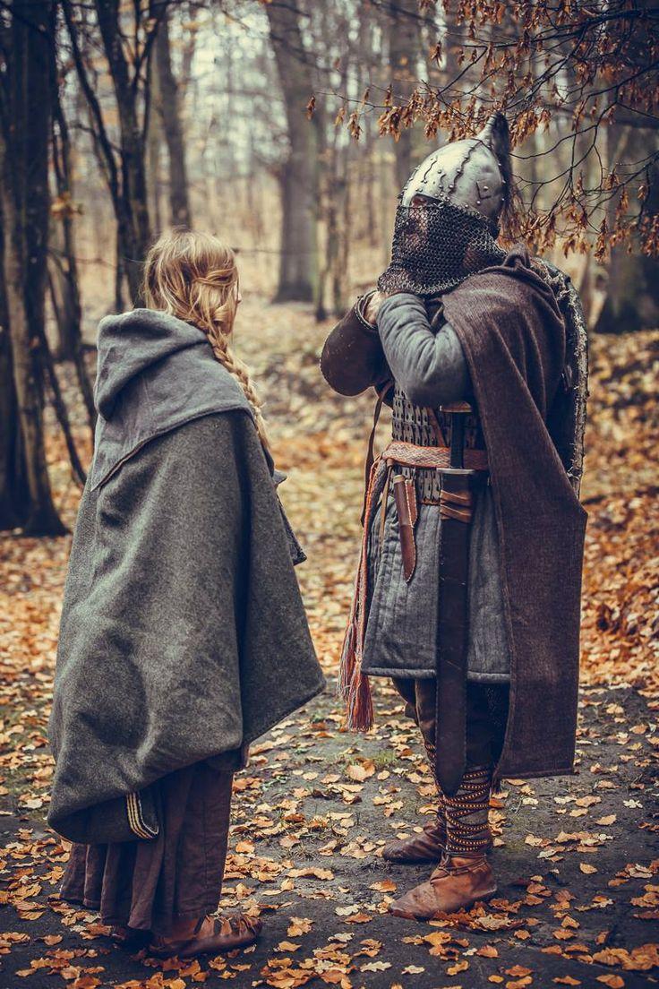 me and my boyfriend, Bażantarnia Elbląg,  Manewry leśne, Słowianie, Ruś, wczesne średniowiecze