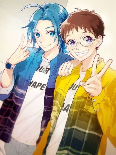 Manami and Onoda - YowaPeda | They are SO cute!!