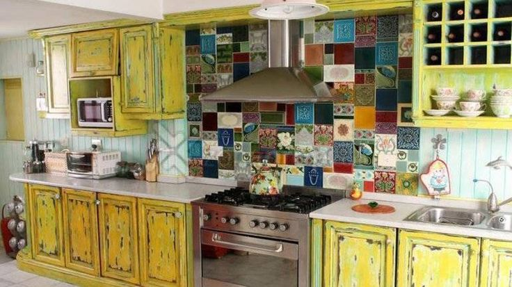 decoración cocina con azulejos