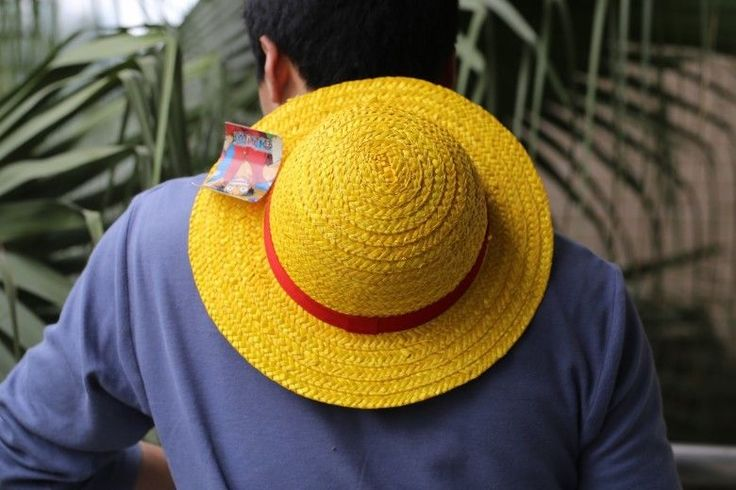 Hot luffy hat one piece monkey d luffy straw hat yellow