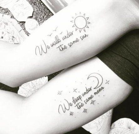 Trendy tattoo matching bestfriends ideas friendship Ideas
