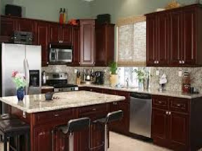 paint colors for kitchens with cherry cabinets best 25 kitchen paint colors with cherry ideas on 9684