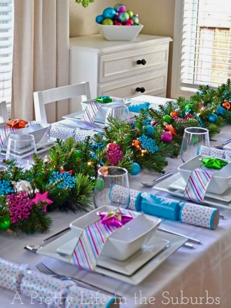 Top 150 Christmas Tables (1/5)🎄. Christmas ArrangementsChristmas Table  DecorationsChristmas ...