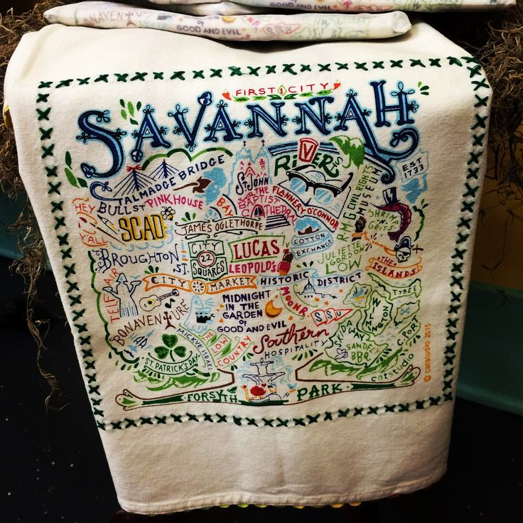 Savannah Towel, Kitchens On The Square,