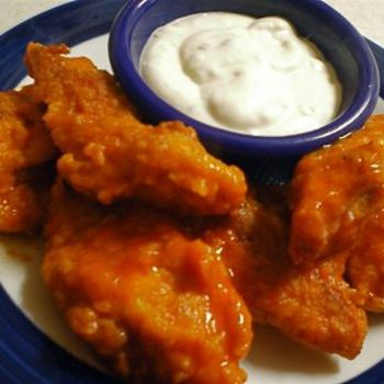 Baked boneless buffalo chicken wing recipe