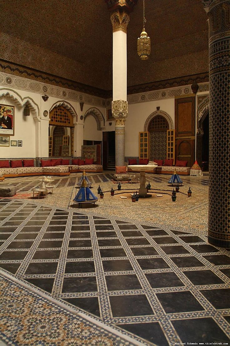 Wonderful Modern Moroccan Islamic Interiors Designs With Beautiful Modern Gorgeous Modern