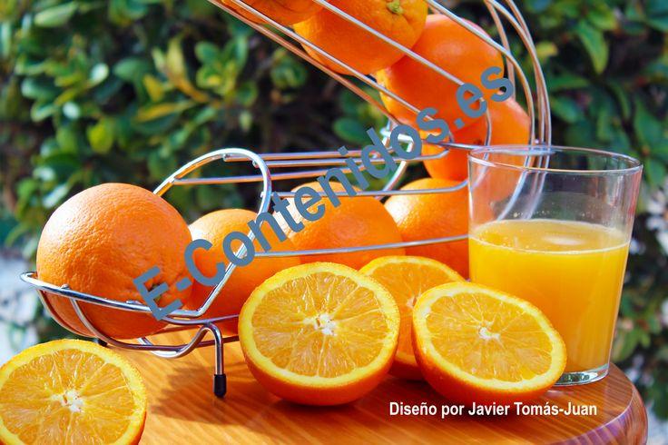 Transmite las propiedades de la naranja mediante marketing de contenidos.