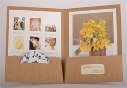 welcome packet for bridal party with schedule and thank yous