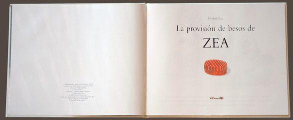 Página de Visualización: LA PROVISIÓN DE BESOS DE ZEA