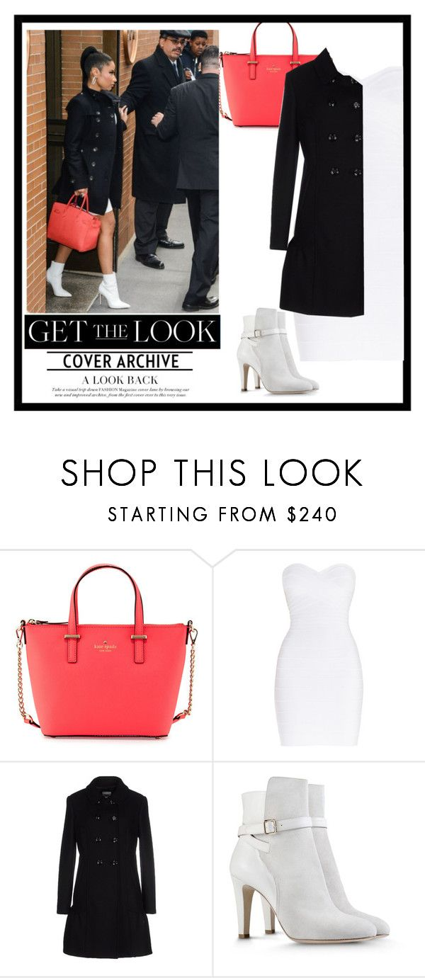 """""""GTL: Nicki Minaj #*number*"""" by neon-and-glass ❤ liked on Polyvore featuring Kate Spade, Hervé Léger, Moschino Cheap & Chic and Alberta Ferretti"""