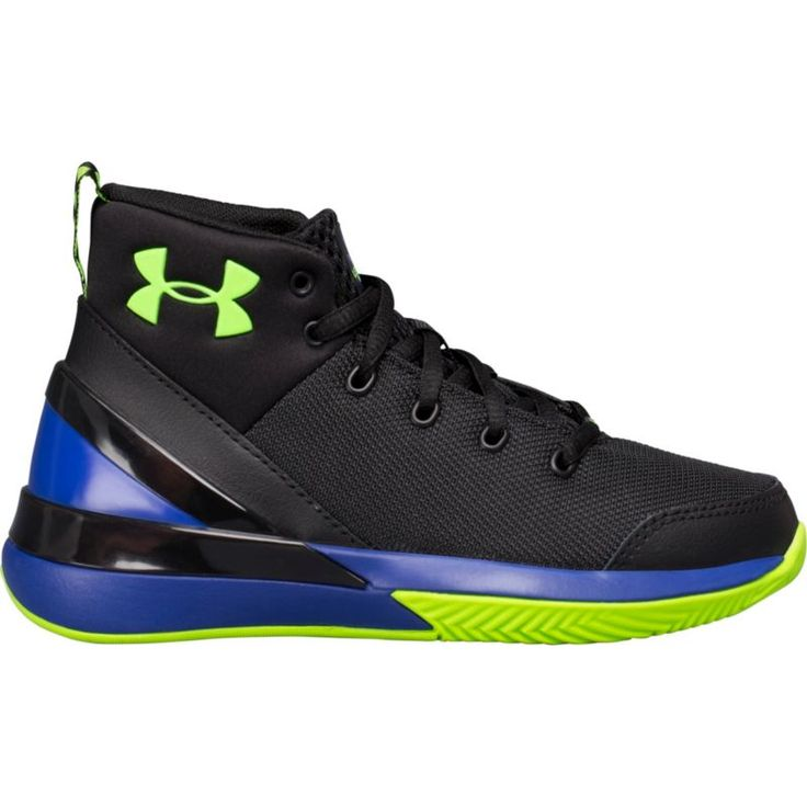 Under Armour Kids' Preschool X Level Ninja Basketball Shoes, Black