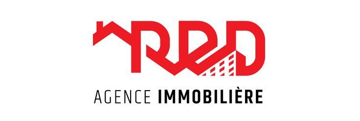 RED Agence Immobilière : #branding #logo #logotype #red #agency #agence #immobilier #montreal #canada #agrumes