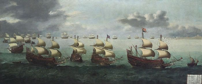The Return of Prince Charles from Spain 5 October 1623