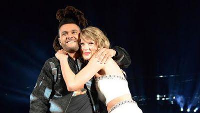 cotibluemos: The Weeknd y su encuentro con una ebria Taylor Swi...