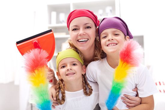 7 Busy-Mom Secrets For a Clean Home