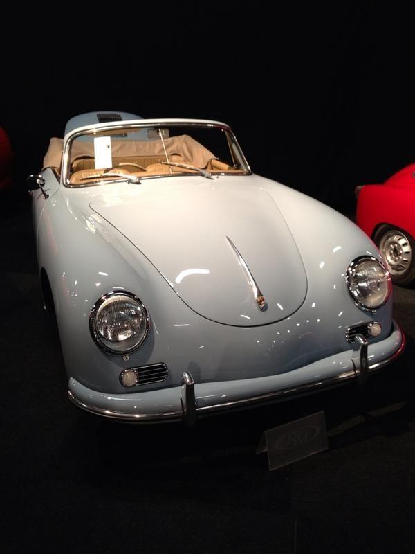 White Porsche 356