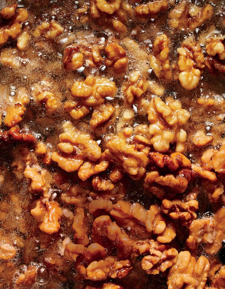 Fried Walnuts | MyRecipes  Walnuts take on a delicious flavor when lightly fried and make a great addition to savory or sweet dishes.
