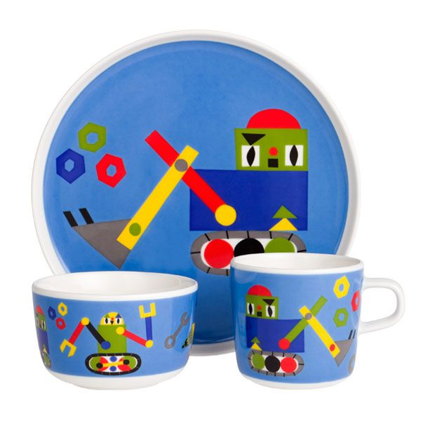 Jakari kids set by Marimekko. Design by Jenni Tuominen.