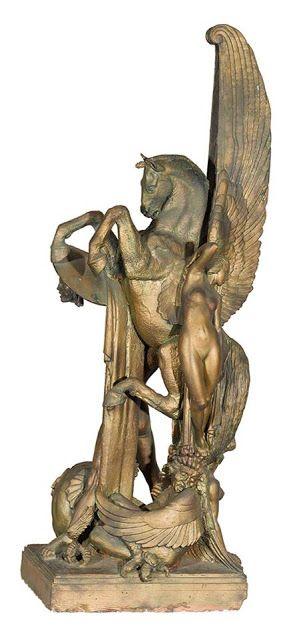 Rayner Hoff (1894-1937), La Naissance de Pégase - 1925