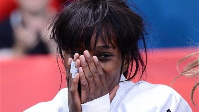 Priscilla Gneto  : Judo bronze